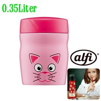 【德國 alfi 】不鏽鋼寬口保溫湯杯350cc (粉紅鼠)