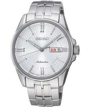 【SEIKO】Presage 4R36 活力時尚機械腕錶-銀