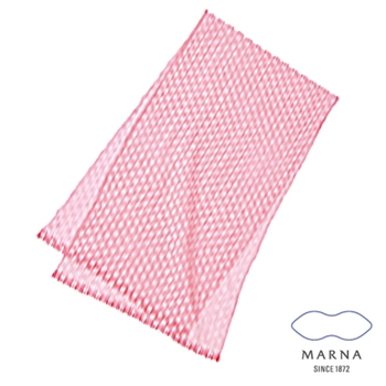【MARNA】尼龍水滴球沐浴巾(粉)