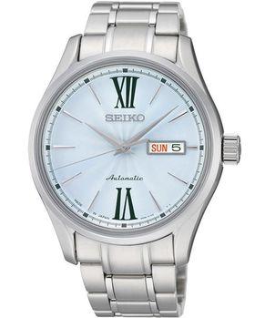 【SEIKO】PRESAGE 匠心4R36機械腕錶-藍