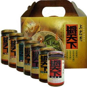 聖祖 醬天下醬料(麻辣+私房醬+油蔥肉燥)各2瓶/共6瓶