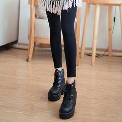 Olivia天鵝絨保暖刷毛東森購物包包內搭褲/保暖內搭褲/九分褲共7色
