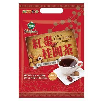 【薌園】紅棗桂圓茶(10g*18入)x8袋