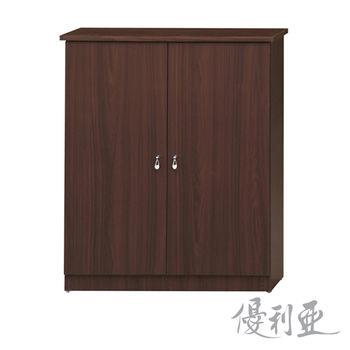 【優利亞-簡約經典】2.5X3尺開門鞋櫃(2色可選)