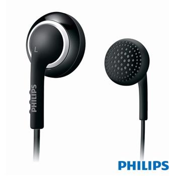 福利品【PHILIPS飛利浦】SHE2860耳塞式耳機-黑