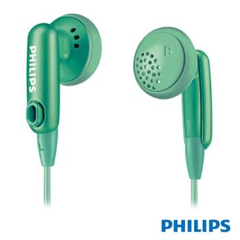 福利品【PHILIPS飛利浦】SHE2633耳塞式耳機-綠