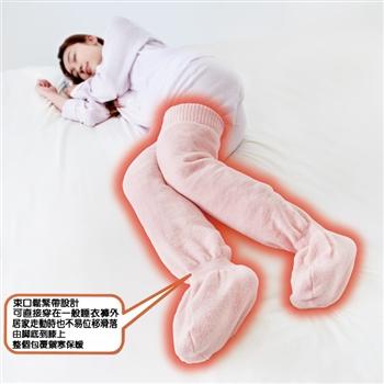 日本Alaphx足暖暖膝上襪套