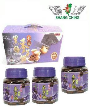 《台灣上青》養生黑糖麥芽餅三罐入禮盒(900g/3組)