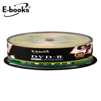E-books 國際版 16X DVD-R 10片桶