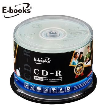 E-books 國際版 52X CD-R 150片桶