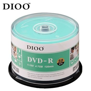 DIOO 海洋版 16X DVD-R 100片桶