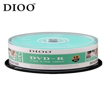 DIOO 海洋版 16X DVD-R 10片桶