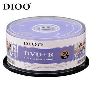 DIOO 海洋版 16X DVD+R 20片桶