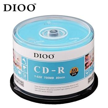 DIOO 海洋版 52X CD-R 50片桶
