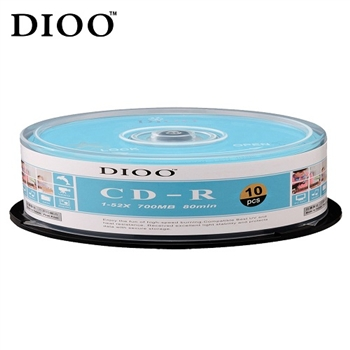 DIOO 海洋版 52X CD-R 10片桶