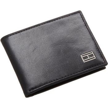 Tommy Hilfiger 2014布萊克浦薄雙折黑色皮夾