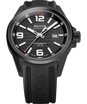 epos大滿貫機械腕錶IP黑3425.131.25.55.55