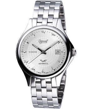 Ogival 紳士真鑽機械錶-銀 829-24AJGS
