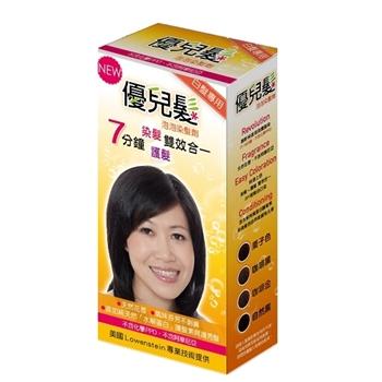優兒髮泡泡染髮劑一盒組-咖啡金