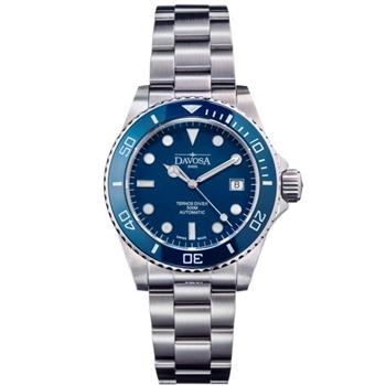 DAVOSA 藍水鬼500M排氦潛水錶/42mm