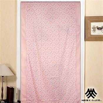 【M.B.H】粉彩佳人三片式開運風水簾(88x176cm)