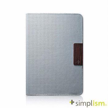 Simplism iPad mini2 布面掀蓋保護套-低調灰色