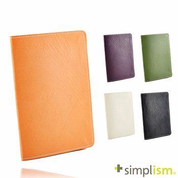 Simplism iPad mini2 超輕量側掀皮革保護套