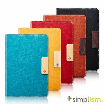 Simplism iPad mini2 記事本型側開皮革保護套