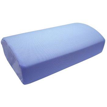 【Lisan】竹炭惰性棉鳥眼布午安枕-藍色(1入)