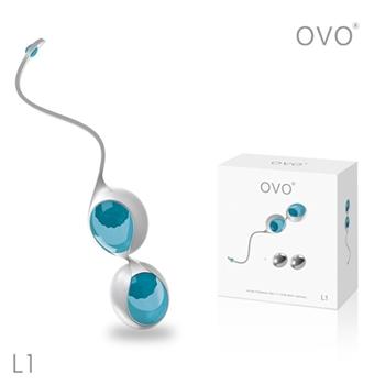 德國OVO-艾薇 L1 女性訓練 聰明球-藍色