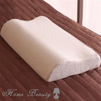 【HomeBeauty】人體工學記憶枕(1入)