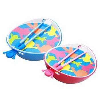 PUSH!餐具使用頂級A5原料的泡麵碗美耐皿碗附贈蓋子及筷子