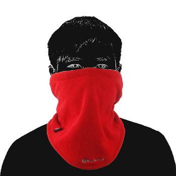 PUSH!戶外用品 加厚保暖防風多用途圍脖圍巾防風面罩防風帽防風護
