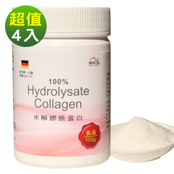 [御松田] 水解膠原蛋白粉末(100gX4入)