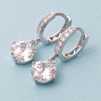 Annie Allen 完美情人兩克拉晶鑽耳環