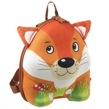 【德國okiedog】兒童3D動物造型後背包(狐狸)