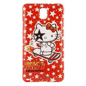 【KISS HELLO KITTY 】Note3 保護套-星星滑板