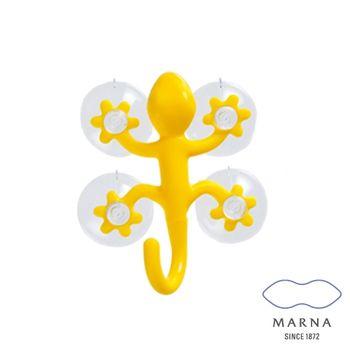 【MARNA】壁虎造型掛勾(黃)