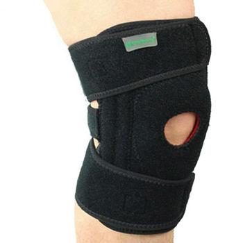 PUSH!雙片式雙向三束帶可調節護膝