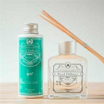 VERTHANDI 室內芳香水竹精油 擴香竹1+1補充瓶(鳶尾花)