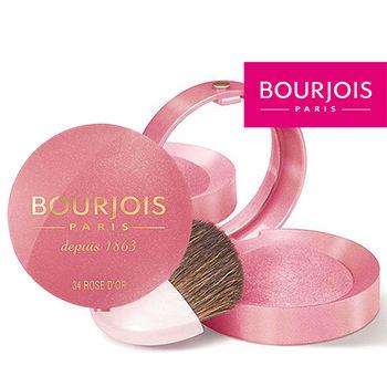 妙巴黎BOURJOIS-胭脂騷餅34金色玫瑰紅2.5g