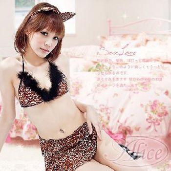 薇珍妮情趣   狂野小豹女  激情豹紋性感裝