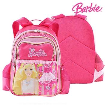 【BARBIE】芭比魔力甜心學生書包(桃紅)