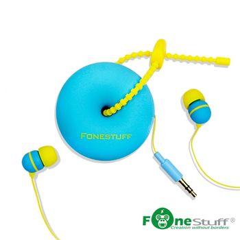 Fonestuff瘋金剛 FS6002收線式耳道耳機(藍)