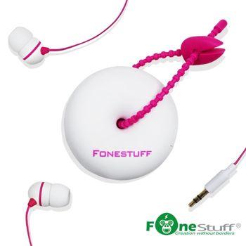 Fonestuff瘋金剛 FS6002收線式耳道耳機(白)
