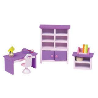 classic world 德國經典木玩 客來喜 紫色迷你家具