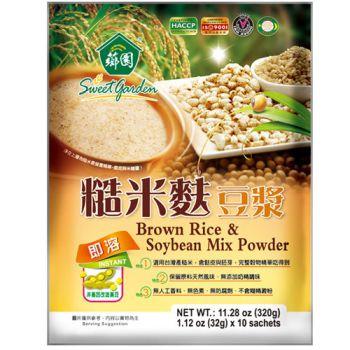 【薌園】糙米麩豆漿(32g*10入) x 12袋