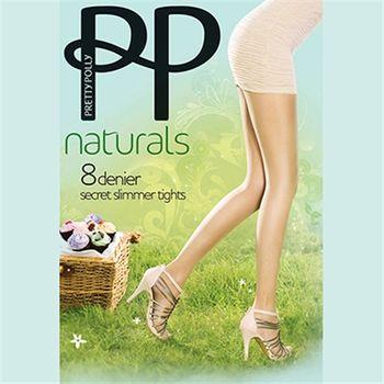 【摩達客】英國進口【Pretty Polly】透明神秘修飾絲襪