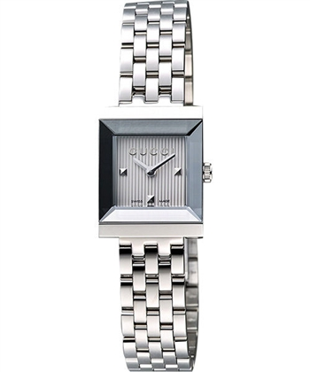 GUCCI 小錶徑女仕腕錶-銀 YA128402