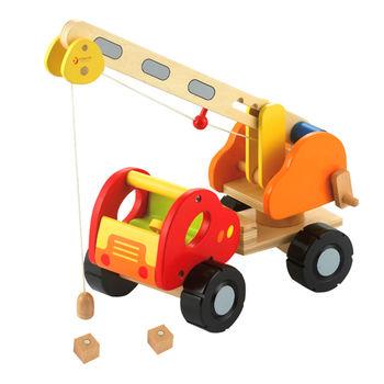 classic world 德國經典木玩 客來喜 磁力吊車